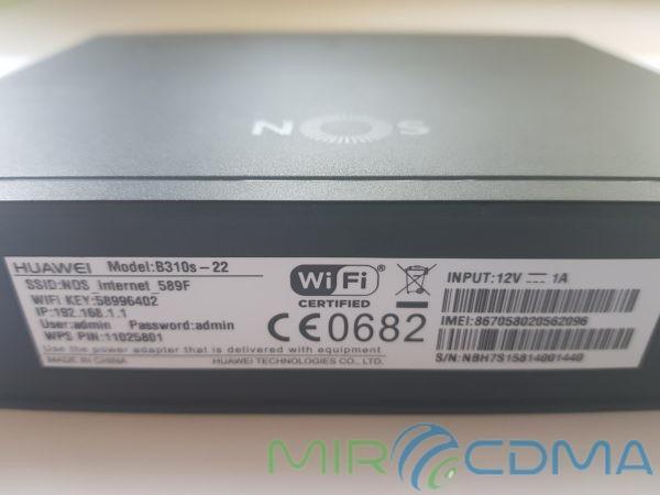 Huawei B310S стационарный Wi-Fi 3G/4G LTE/GSM/UMTS роутер