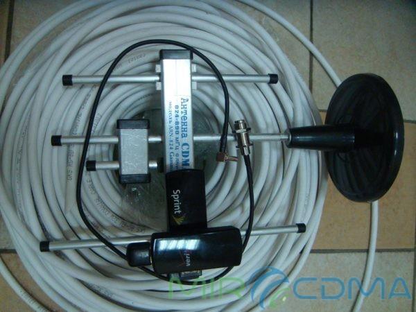 Комплект 3G CDMA модем Novatel U760, адаптер(Pigtail), кабель с Антенной 5 dBi
