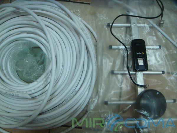 Комплект 3G CDMA модем Franklin U301, адаптер(Pigtail), кабель с Антенной 19 dBi