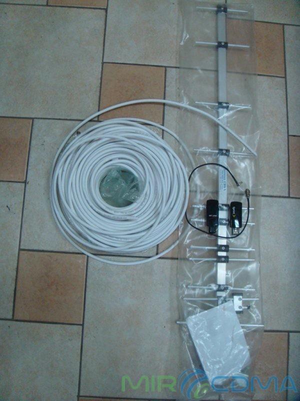 Комплект 3G CDMA модем Novatel U760, адаптер(Pigtail), кабель с Антенной 14 dBi
