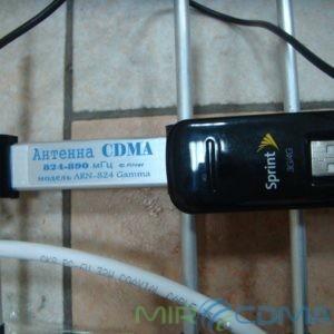 Комплект 3G CDMA модем Franklin U600, адаптер(Pigtail), кабель с Антенной 16 dBi