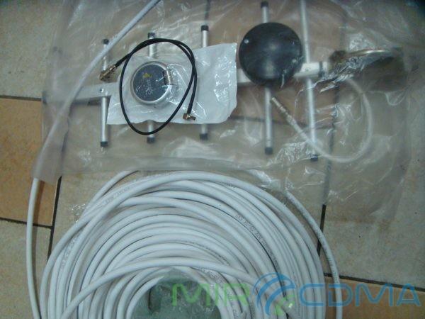 Комплект 3G CDMA модем Sierrra 250U, адаптер(Pigtail), кабель с Антенной 19dBi