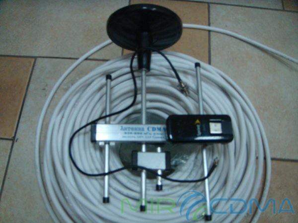 Комплект 3G CDMA модем Franklin U600, адаптер(Pigtail), кабель с Антенной 5 dBi