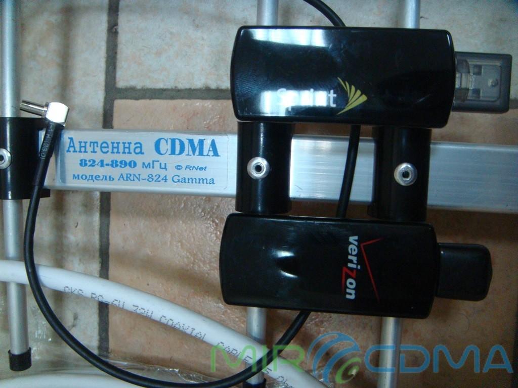 Комплект 3G CDMA модем Novatel U760, адаптер(Pigtail), кабель с Антенной 16 dBi