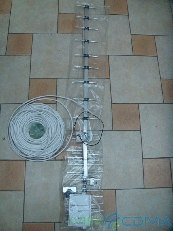 Комплект 3G CDMA модем Sierra 250U, адаптер(Pigtail), кабель с Антенной 17.5 dBi