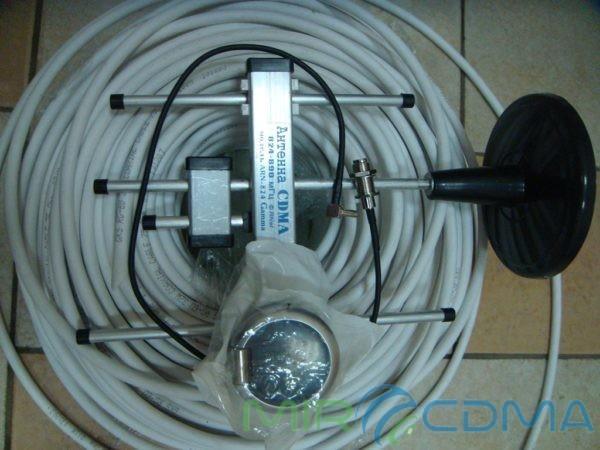 Комплект 3G CDMA модем Sierrra 250U, адаптер(Pigtail), кабель с Антенной 5 dBi