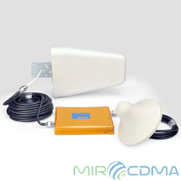 Двухдиапазонный репитер 3G GSM Lintratek KW20L-GW 900/2100 мГц