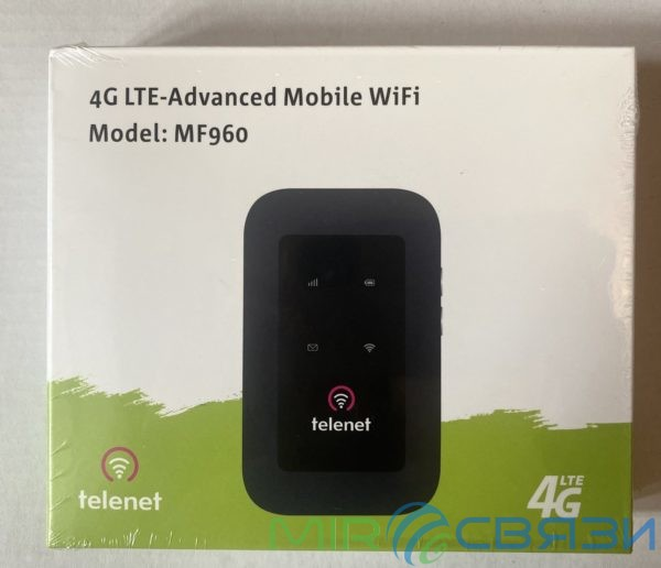 ZTE MF960 мобильный 3G/4G LTE Роутер