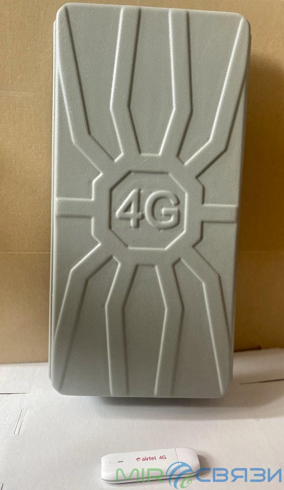 Spider 2х16 dBi панельная MIMO антенна 3G/4G Runbit