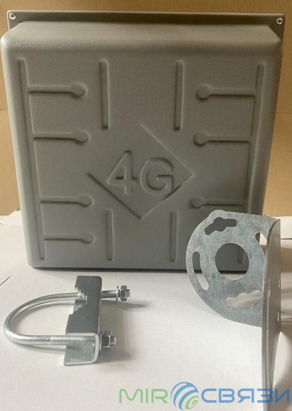 Панельная 3G/4G LTE антенна 17 dBi Solo RunBit